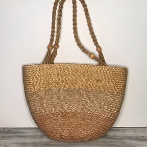 Boho Woven Straw Bag
